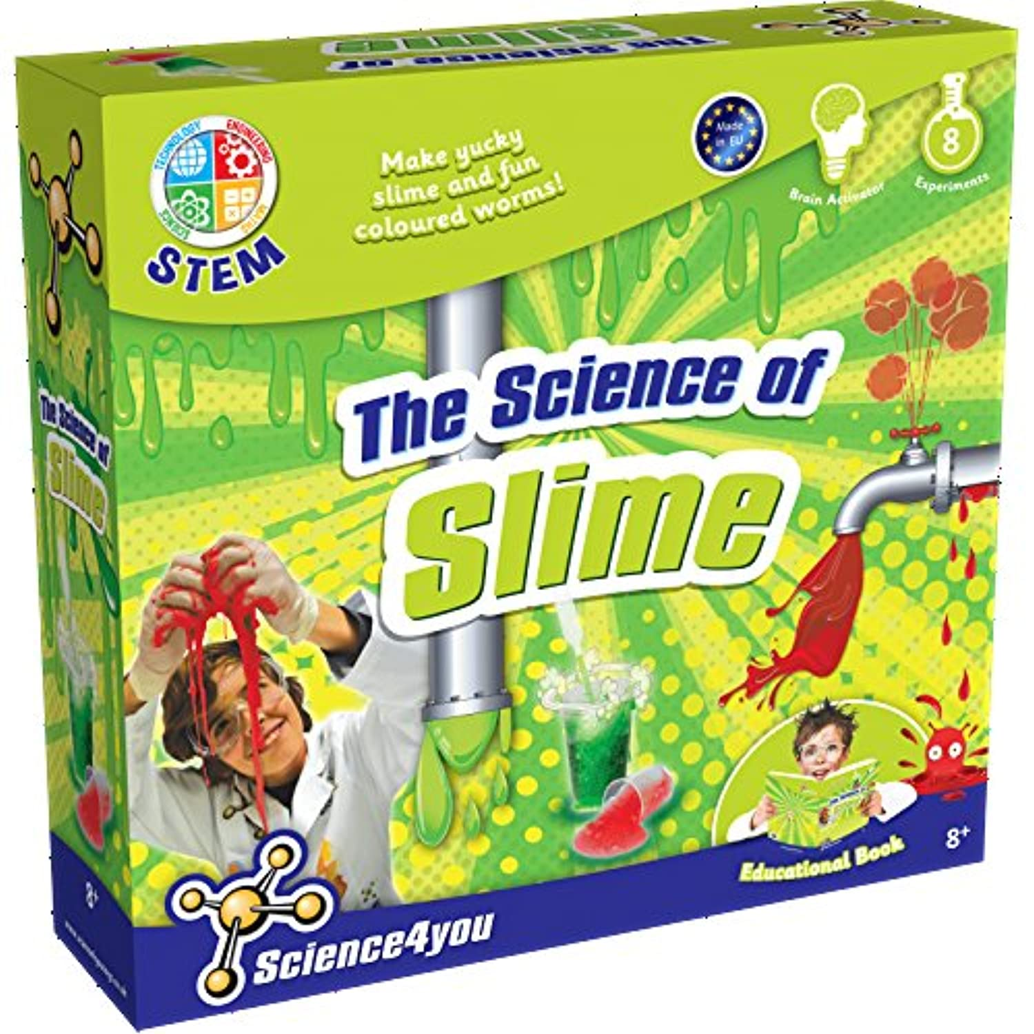 (exp) The Science Of Slime - Toys