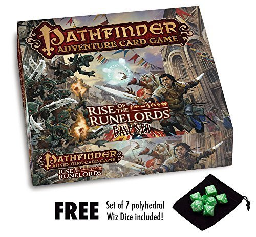Pathfinder Adventure Card Game: Rise of the Runelords Base Set w/ free Set of 7 Wizdice by Pathfinder [並行輸入品]