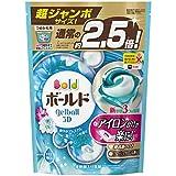 ボールド 洗濯洗剤 ジェルボール3D 爽やかプレミアムクリーンの香り 詰め替え 超ジャンボ 44個入