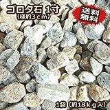 ゴロタ石 1寸(18kg入)