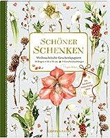 Geschenkpapier-Buch - Schoener schenken (Marjolein Bastin): Weihnachtliche Geschenkpapiere. 10 Bogen 50x70 cm und 9 Geschenkanhaenger