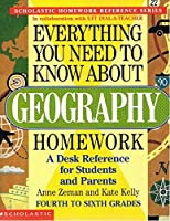 Everything You Need To Know About Geography Homework: A Desk Reference for Students and Parents - 4th to 6th Grades [並行輸入品]
