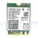Intel Dual Band Wireless- AC 9260NGW NGFF WiFi Card M.2 NGFF 2.4/5GHz(160Mhz) Bluetooth 5.0 Wireless WiFi Card 1.73Gbps
