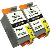 3年保証 キャノン (CANON)用 BCI-16CLR 互換インクカートリッジ カラー 2個パック 9818A001 ベルカラー製