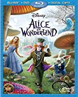 [北米版Blu-ray] ALICE IN WONDERLAND (2010)(3PC)(W/DVD)/ (AC3)[Import]