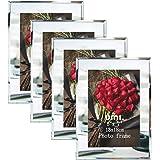[Amazonブランド] Umi.(ウミ) 写真たて フォトフレーム 2Ⅼ サイズ 写真飾り 額縁・パネル 結婚祝い 出産祝い 4枚セット
