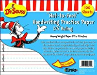 Eureka Cat in the Hat Writing練習用紙、100シート( 805102 ) – Discontinued by Manufacturer