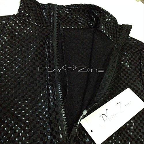 キャットスーツ コスチューム 黒 フリーサイズ