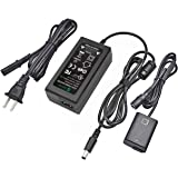 AC-PW20 AC Power Adapter Supply PW20 DC Coupler Gonine (NP-FW50 Battery Replacement) for SONY Alpha NEX-5 NEX-5A NEX-5C NEX-5