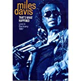 Thats What Happened: Live in Germany 1987 / [DVD] [Import]