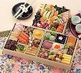 京菜味のむら おせち「華御所」三段重 40品 (12月30日着)
