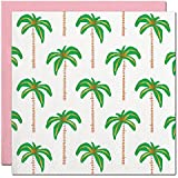 (Palms) - Slant Collections Gold Foil Palm Trees Beverage Napkins