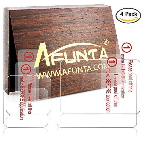 AFUNTA 液晶保護フィルム GoPro Hero 5 Black Sport アクションカメラ ( スクリーン と レンズ ) 専用 スクリーン保護シート Hero5 液晶フィルム 9H高硬度 極薄 防塵 傷を防止 耐衝撃 4枚入り