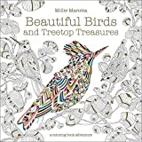 Beautiful Birds & Treetop Treasures Softcover Colouring Book w/ 96 Pages