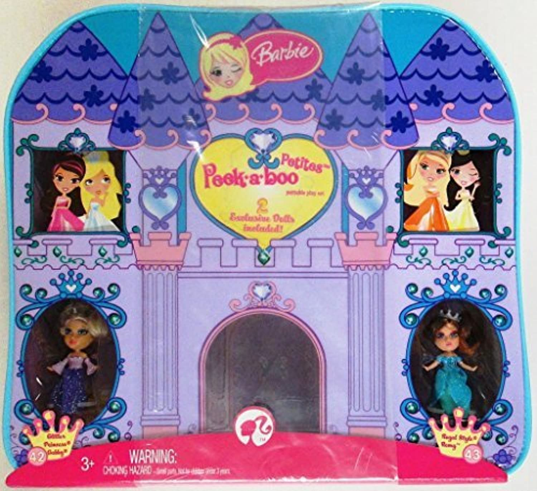 Mattel – バービー – m0772 – Poupee – Coffret Petites Club – バイオレット