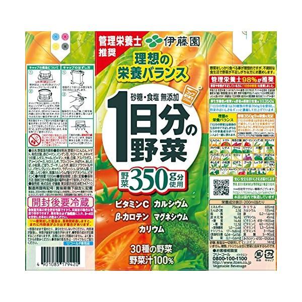 伊藤園 1日分の野菜の紹介画像2