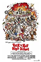 Rock ' n ' Roll High School映画ポスター27x 40、P・J・底、ヴィンセント・ヴァン・パタン、A、Made in the U。S。A。
