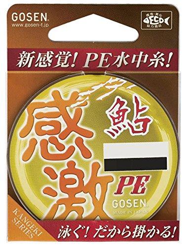 PEライン 感激 鮎 PE 16m 0.15号 1.57kg GA500015