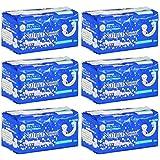 ナチュラムーン生理用ナプキン多い日の夜用 12個入×6袋セット