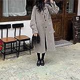 Ladies Belt Warm and Office Ladies Women's Fashion Woolen Cotton 2020 Winter Sweet Coat