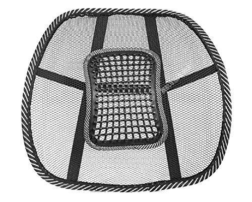 ゲインマートオリジナル ランバーサポート 超軽量 蒸れないメッシュタイプ 腰痛対策 クッション イスや車のシートに簡単取り付け #Automotive_Parts_and_Accessories #B00DAFZCFA