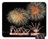 マウスパッド - Fireworks Rocket Night Sky Sylvester