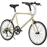 RIPSTOP(リップストップ) 自転車 ミニベロ 小径車 20インチ ハイテンフレーム trot RSM-01