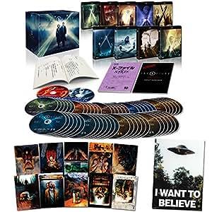【Amazon.co.jp限定】X-ファイル コレクターズブルーレイBOX(「I WANT TO BELIEVE」B2サイズポスター1枚、ポストカード10枚セット付き) (57枚組)(初回生産限定) [Blu-ray]