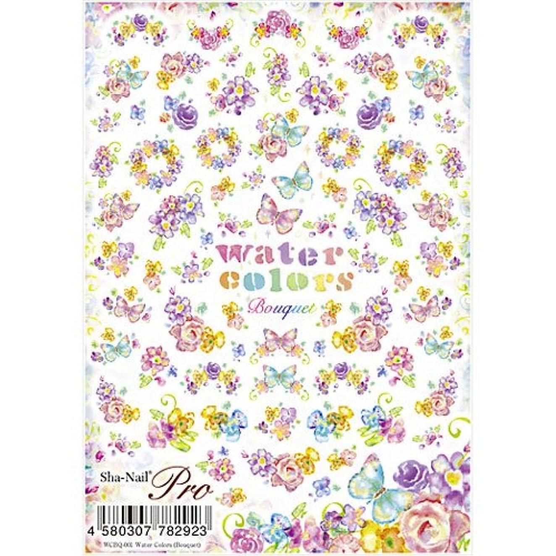 ベッドずっとお香写ネイルプロ ネイルシール 水彩 Bouquet アート材