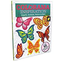 Colorama Decoration and Inspiration Angels Animals Nature & More Coloring Book 【You&Me】 [並行輸入品]