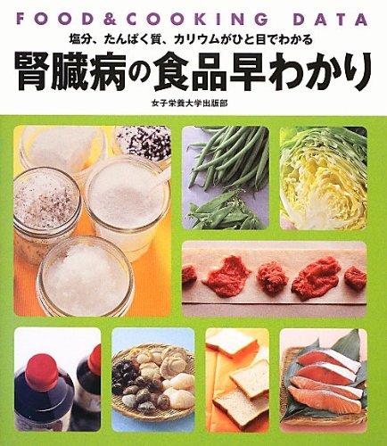 腎臓病の食品早わかり―FOOD&COOKING DATA