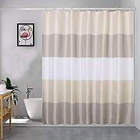 シャワーカーテン 浴室カーテン ユニットバス カーテン お風呂 バスかーてん 防水 防カビ おしゃれ 清潔感 速乾 軽量…