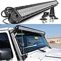 Tiauto 300W Ledライトバー・ledワークライト・作業灯・LEDサーチライト・耐震・長寿命 集魚灯・ATV・SUV車外ライト [並行輸入品]