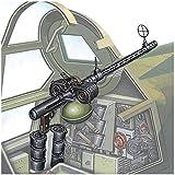 ファインモールド 1/48 ナノ・アヴィエーションシリーズ MG15 7.92mm旋回機銃 海軍一式/陸軍九八式 プラモデル用パーツ NC12