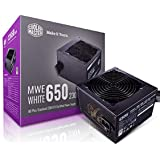 Cooler Master MWE 80Plus White 650W 230V 80Plus Single +12V Rail Silent Mode DC-to-DC Power Supply - Black - MPE-6501-ACABW-A