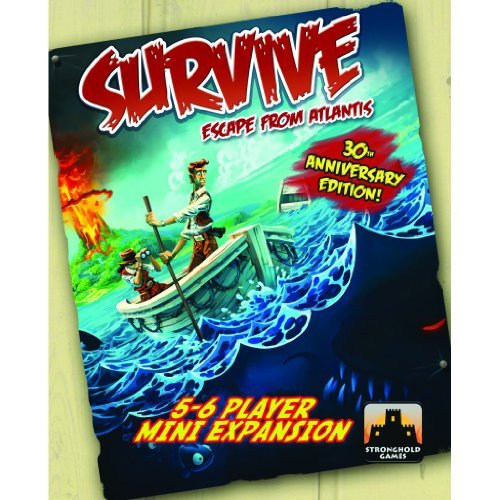 Survive: Escape from Atlantis! 5-6 Player Mini Expansion by Stronghold Games [並行輸入品]