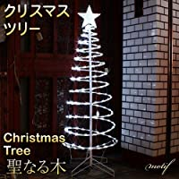 新品 モチーフライト クリスマスツリー ツリー 聖なる木 スター付き スター LED ライト クリスマス 星☆★