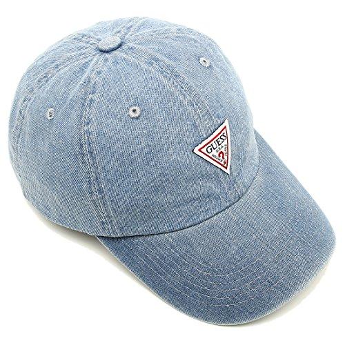 ゲス キャップ GUESS MG0A2004J LBL デニムCAP レディース メンズ 帽子 LIGHT BLUE 青 [並行輸入品]