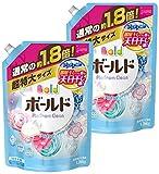 【まとめ買い】 ボールド 洗濯洗剤 液体 香りのサプリインジェル プラチナピュアクリーンの香り 詰替用 超特大サイズ 1.26kg×2個