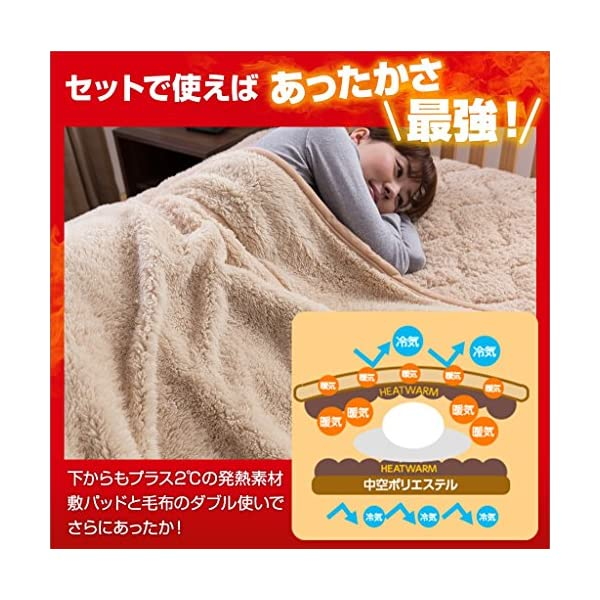 Heat Warm (ヒートウォーム) 毛布 ...の紹介画像7