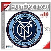 "New York City FC WinCraftリムーバブルmulti-use Decal Cut toサイズ4.5. 75"""