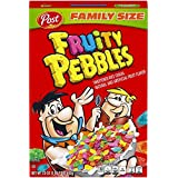 Post Fruity Pebbles Gluten Free Cereal, 23 Ounce (Pack of 12)