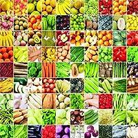 緑:種の20パッケージの野菜と果物の有機栽培の庭の100のパッケージの熱い販売
