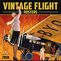 Vintage Flight Posters Smithsonian 2018 Wall Calendar