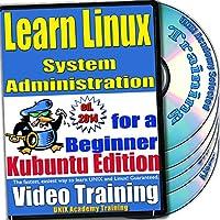 Linuxのシステム管理。初級ビデオトレーニングおよび認定試験、英語でKubuntuのバージョン。 4 -DVDセット