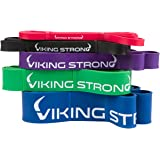 Viking Strong Pull Up Bands, Pull-Up Assist Bands, Resistance Bands, Mobility Band, Powerlifting Bands, Jump Stretch Bands.In