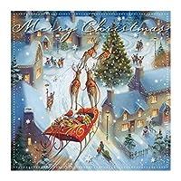 Susy Card 40003146 クリスマスグリーティングカード ウィンタービレージ 3D 電話ケースカバー