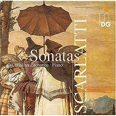 ツァハリアス独奏 スカルラッティ:ソナタ集第二弾の商品写真
