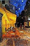 ポスター ゴッホ/夜のカフェテラス TX-1848