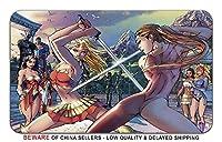 スーパーガールセクシーな漫画本スーパーヒーロースタイリッシュなPlaymatマウスパッド(24x 14) インチ[ MP ] Supergirl GSH - 6